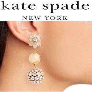 Black Friday Sale Kate Spade Pearl Drop Earrings